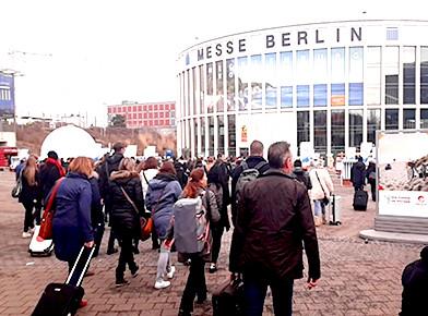 """ドイツ・ベルリン旅行博 """"ITB ベルリン 2018""""に初出展しました"""