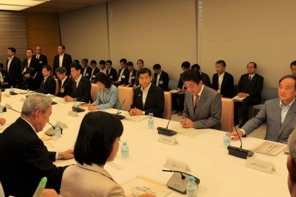 「観光戦略実行推進会議」に松本理事長が出席しました