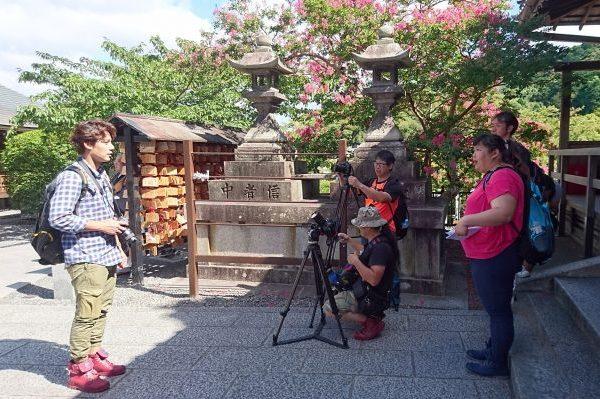 台湾の旅番組「秘境不思溢」クルーを招聘、取材・撮影を実施しました