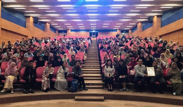 マレーシア マラヤ大学でプロモーション活動を行いました
