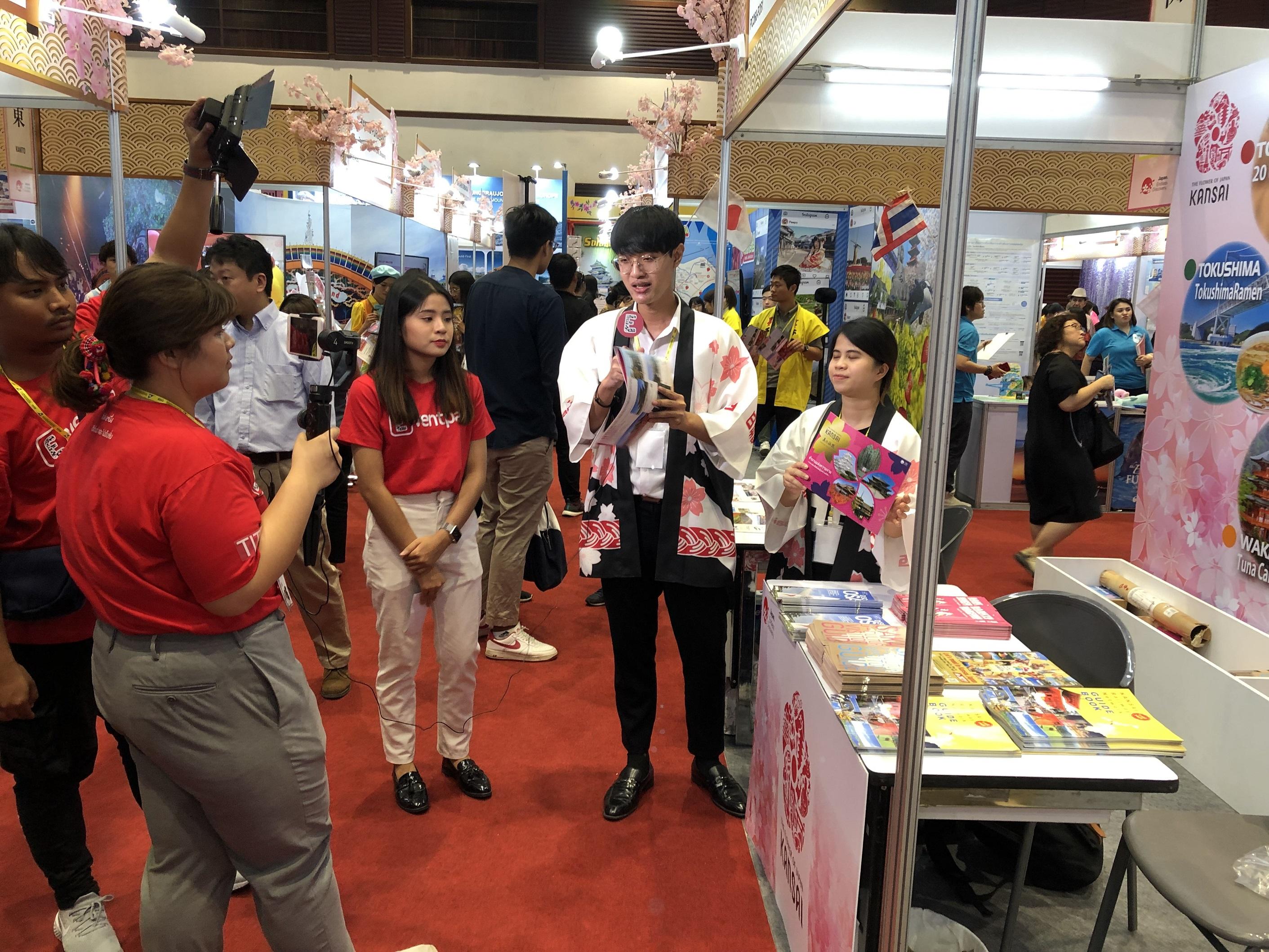 タイ国際旅行フェア「Thai International Travel Fair #24(第24回TITF)」でKANSAI プロモーションを実施しました