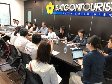 ベトナム・ホーチミンにてプロモーションを実施しました 最大手国営旅行会社サイゴンツーリストへの訪問