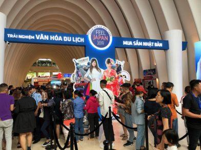 ベトナム・ホーチミンにてプロモーションを実施しました 旅行博「FEEL JAPAN」の会場