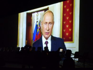 国連世界観光機関(UNWTO)に加盟、ロシアでの総会に参加しました ロシア・プーチン大統領からのビデオメッセージ