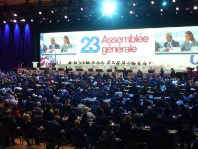 国連世界観光機関(UNWTO)に加盟、ロシアでの総会に参加しました 各国代表者、アフィリエイトメンバーが集結