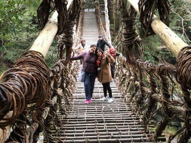 インドネシアのメディア向けファムトリップを実施しました 徳島県かずら橋