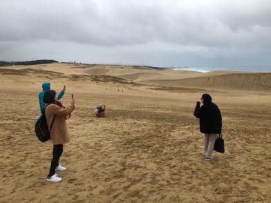 インドネシアのメディア向けファムトリップを実施しました 鳥取砂丘
