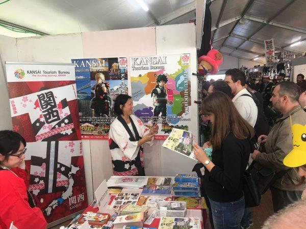 イタリアでのマンガの祭典「Lucca Comic & Games」 に出展しました