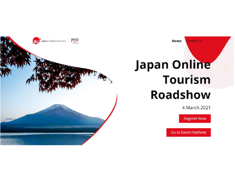 JNTOローマ事務所主催 Japan Online Tourism Roadshow (オンライン訪日旅行セミナー・商談会)に参加しました