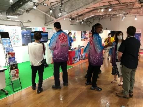 東京都メディアセンター 地方PRブースに出展しました